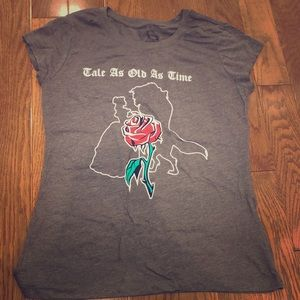 Tale as Old as Time Beauty & the Beast shirt L